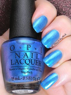 41 Best OPI Blue Shades images | Opi Nails, Nail Polish, Nail polishes