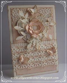 Elly's Card Corner: Kanterig ticket :-)