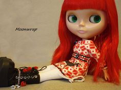 Red hair Blythes are my favorites.