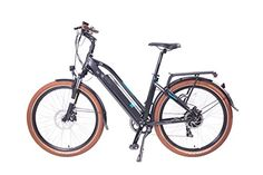 Magnum UI5 Electric Bicycle Electric Hybrid City BikeElectric Commuter Bike MATTE BLACK 350w FREE GIFT Rear Rack and Free Gift 16000mAh Solar Power Bank For Cell phones >>> More info could be found at the image url.