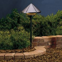 Kichler Lighting Versatile fixture with wider light distribution for paths and low areas of groundcover. Stem or bollard, ordered separately. Driveway Lighting, Pathway Lighting, Path Lights, Backyard Lighting, Outdoor Lighting, Lighting Ideas, Sidewalk Lighting, Shop Lighting, Modern Landscaping