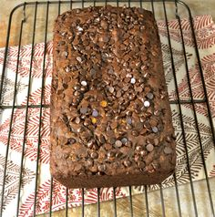 Dark Chocolate Espresso Bread | @maebellsa