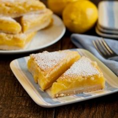 Lemon Bars by AFamilyFeast  Seriously…the best Lemon Bars ever!! Everyone needs this in their recipe collection!