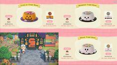 Halloween Hats, Halloween Patterns, Halloween Trick Or Treat, Halloween Design, Animal Crossing Wild World, Animal Crossing Guide, Animal Crossing Qr Codes Clothes, Animal Games, My Animal