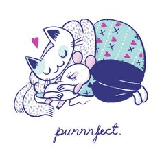 Purrrfect dream by Mari Ahokoivu