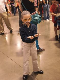 A young Stan Lee