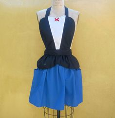 MARY POPPINS apron style womens full Apron by loverdoversclothing