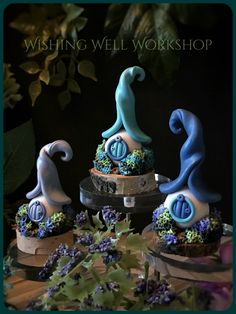 Miniature Polymer Clay Fairy Houses-Wishing Well Workshop