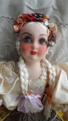 1920 s 19  Art Deco Boudoir Doll
