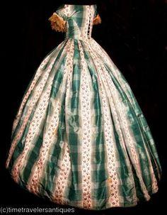 Looks like a 1860's dress