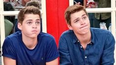 Jack and Finn Harries lookin hot even with funny faces