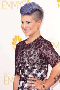Kelly Osbourne knows what her style is! Emmy awards 2014