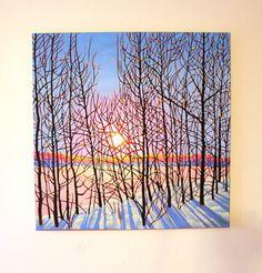 Light of Life original oil painting landscape by kstewartfineart, $1200.00
