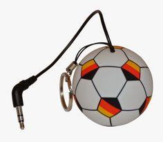 SOUND2GO - mobile bluetooth mini speaker: Fan-Artikel zur Fußball-WM in Brasilien von Mobise...