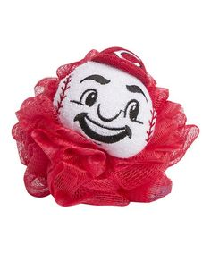 Love this Cincinnati Reds Loofah - Set of Three by MascotWear on #zulily! #zulilyfinds