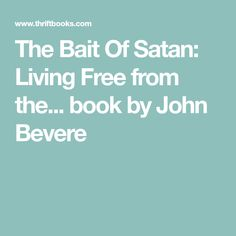 Bajo el abrigo spanish edition 9781591854463 john bevere isbn the bait of satan living free from the book by john bevere fandeluxe Images