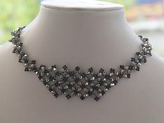 Beaded Necklace Jewelry Making Tutorial