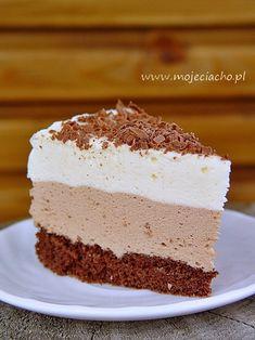 Ptasie mleczko | MOJE CIACHO Pavlova, Coleslaw, Marshmallow, Vanilla Cake, Nutella, Cake Recipes, Food And Drink, Sweets, Food Cakes