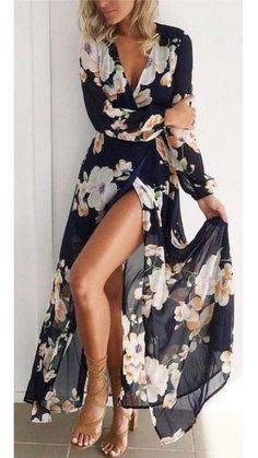 wedding guest outfit Check out best Dresses to be worn this winter,fall,spring,summer Long Short Summer Fall Vintage Wedding Floral Outfit Dress Autumn Spring Bridesmaid Trendy Dresses, Women's Dresses, Cute Dresses, Beautiful Dresses, Wedding Dresses, Long Dresses, Cheap Dresses, Wedding Skirt, Long Summer Dresses