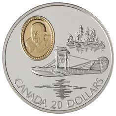 $20 1994 Silver Coin - Curtiss HS-2L