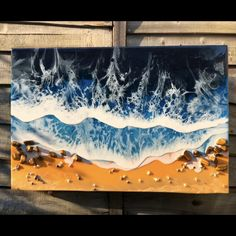 Resin on cradled wood canvas 20 x made with real tigers eye crystal. This is a powerful stone that helps you to release fear and anxiety and aids harmony and balance Diy Resin Art, Epoxy Resin Art, Diy Resin Crafts, Wood Resin, Wood Crafts, Diy Canvas Art, Wood Canvas, Three Canvas Painting, Canvas Painting Designs