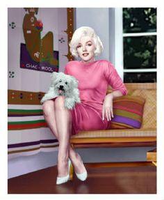 Marilyn & Maf-Honey. By Brandon Heidrick. Copyright 2003.