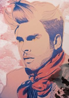 Jon Kortajarena by SOFIA ALMAZAN, via Behance