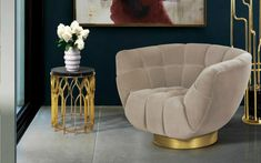 6 Stylish Armchairs That Will Harmonize Your Apartment | armchairs #modernchairs #interiordesign #velvetarmchairs | See more at: http://modernchairs.eu/stylish-armchairs-harmonize-apartment-yuliia/