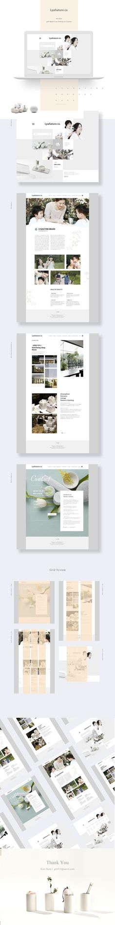 Lyanature Redesign - Designer - Kim-hana on Behance