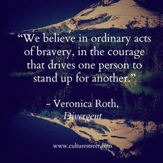 Culture Street | Quote of the Day from Veronica Roth