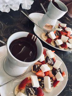 #fondü#chocolate#strawberry#banana#icecream#choco#love#pinterest#çikolata#çilek