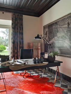 UNA CASA DE CAMPO EXQUISITAMENTE CHIC [] CHIC COUNTRY HOUSE In Portugal   Home  Office