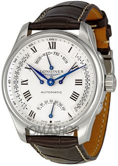 Longines Master Collection Silver Dial GMT Automatic Mens Watch L27174713 $2,480