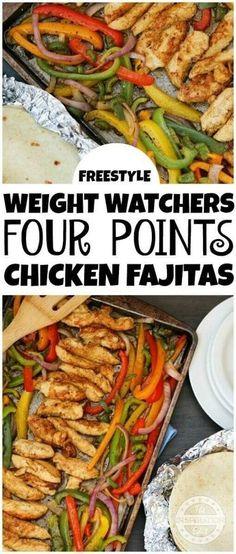 Weight Watchers 4 Point Chicken Fajitas · The Inspiration Edit