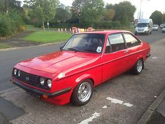 1979 FORD ESCORT RS 2000 RED  - http://www.fordrscarsforsale.com/1575