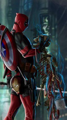 Deadpool Ryan Reynolds confirms film is preparing within MCU Marvel Deadpool Movie, Marvel Avengers, Deadpool Art, Marvel Comics Superheroes, Marvel Art, Marvel Heroes, Deadpool Wallpaper, Avengers Wallpaper, Deadpool Pikachu
