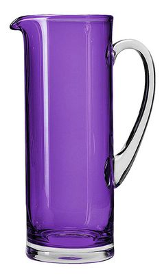 Violet pitcher - stirred, not shaken Purple Love, Purple Lilac, All Things Purple, Purple Glass, Shades Of Purple, Deep Purple, Purple Stuff, Purple Colors, Or Violet