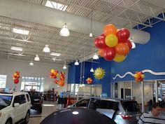 Gillman Summer - Balloon Man LLC #balloondesigns #balloondisplays