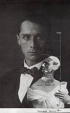 MAX ERNST  Avant-Garde Dada Poster The Hat Makes the Man 1920