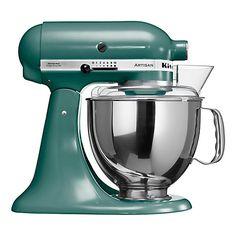 Buy KitchenAid Artisan Stand Mixer, Bayleaf Online at johnlewis.com