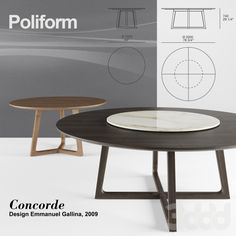 Poliform Concorde set 1