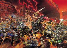 L'Empire contre les Orques, par (auteur inconnu), in Warhammer Battle 6e édition, par Games Workshop