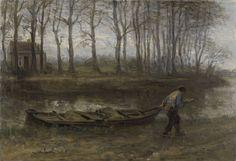 De zandschipper, Jozef Israels, 1887