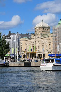 Dramaten (The Royal Dramatic Theater) in Stockholm, Sweden.