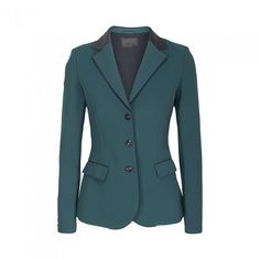 Cavalleria Toscana Ladies GRAND PRIX Competition Jacket - TEAM GREEN - New In