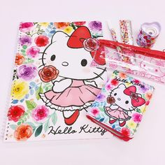 "52 Likes, 6 Comments - Sanrio Gardena (@sanrio_gardena) on Instagram: ""New Hello Kitty stationery items, backpacks & lunch bags have arrived in this beautiful floral…"""