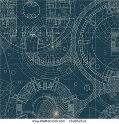 More cover stock ideas: Architectural background. Vector building plan. - stock vector
