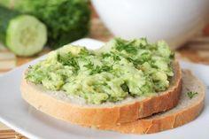 Zimowo-wiosenne guacamole - z ogórkiem i koperkiem (dieta wegańska & RAW)
