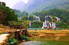 BanGioc falls..... Vietnam