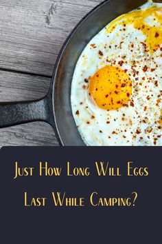 Eggs are an essential camping food. But how long will eggs last when we're out in the field and away from our refrigerator? Diy Camping, Tent Camping, Camping Hacks, Camping Gear, Nutrients In Eggs, Health Benefits Of Eggs, Bad Eggs, Campfire Food, Camping Products